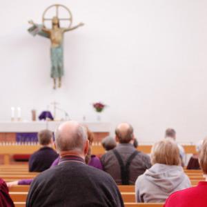Messu Karjasillan kirkko